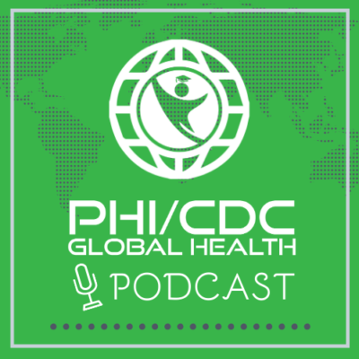 PHI CDC Global Health Podcast Logo